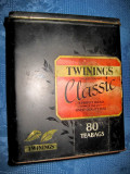 4286-Classic Twinings Cutie vintage metal ceai, South Way Andover Hampshire.