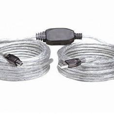 Manhattan 510424 Cablu Hi-Speed USB Active 11m