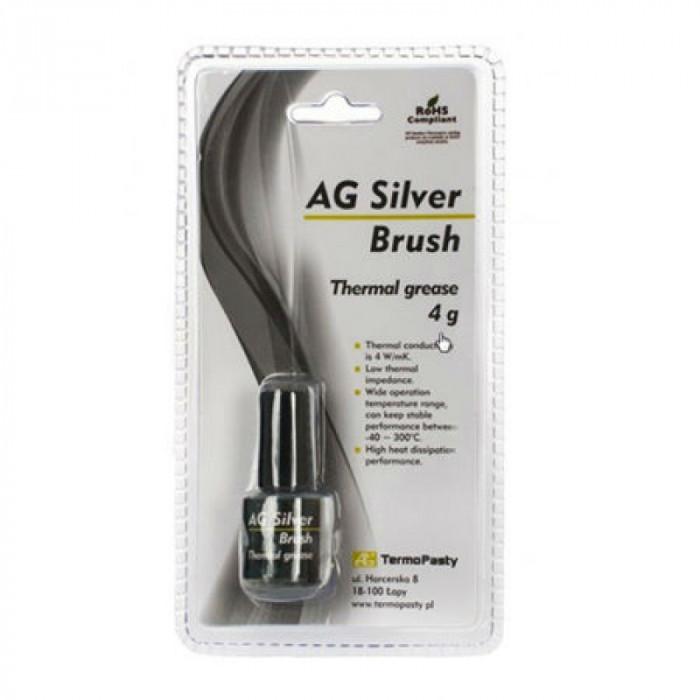 Pasta termoconductoare pe baza de argint Silver Brush, 4 grame