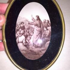 Rama alama cu sticla cu Isus