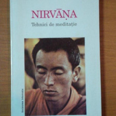 NIRVANA TEHNICI DE MEDITATIE , 1993