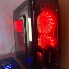 PC / Calculator de Gaming + Monitor LG 21,5 inch HD, Intel Core i5