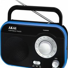 Radio portabil Akai PR003A-410 Jack 3.5 Negru