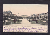 SALUTARI DIN TURNU SEVERIN  PIATA TUDOR VLADIMIRESCU  CLASICA CIRCULATA  1906, Printata, Drobeta-Turnu Severin