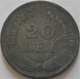 Moneda ISTORICA 20 LEI - ROMANIA, anul 1942 *cod 4008 B = zinc