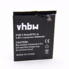 Acumulator pentru Meizu M3 Note si altele 4000mAh BT61