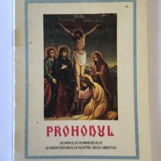 PROHODUL Domnului Dumnezeului si Mantuitorului nostru Iisus Hristos (BOR - 2000)