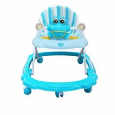 Premergator reglabil in 3 trepte Jolly Kids BW5301, albastru
