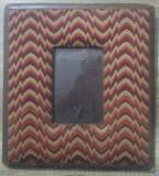 Rama foto din panza// perioada interbelica, Profil sintetic, Dreptunghiular