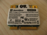 Placa wireless laptop Asus Eee PC 1001PXD, AzureWave AW-NE107H, RTL8191SE