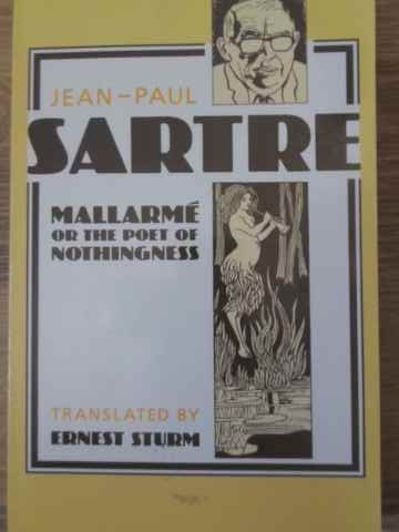 MALLARME OR THE POET OF NOTHINGNESS - JEAN-PAUL SARTRE