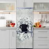 Sticker Tapet Autoadeziv pentru frigider, 210 x 90 cm, KM-FRIDGE-48