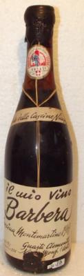 82 - vin barbera, delle cascine nicesi, recoltare 1967 cl 72 gr 13,1 foto