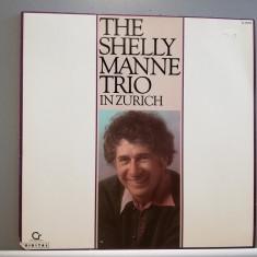 The Shelly Manne Trio – In Zurich (1986/Contemporary/RFG) - Vinil/Jazz/Impecabil, Geffen rec