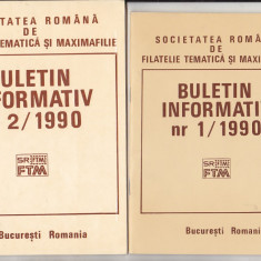 bnk fil Soc. romana de filatelie tematica si maximafilie - buletine info 1990