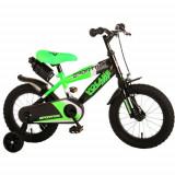 Cumpara ieftin Bicicleta Sportivo Verde 14 inch cu Frane de Mana si Sticla Apa
