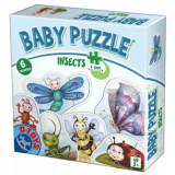 Set 6 puzzle-uri Baby Puzzle Insecte, D-Toys