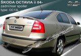 Eleron portbagaj tuning sport Skoda Octavia 2 RS Sedan Hatchback 2004-2013 v6
