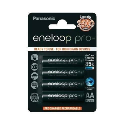 Baterie Panasonic Eneloop Pro R6/AA 2500mAh 4 bucati blister