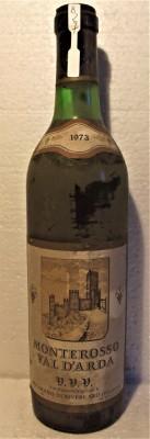 B 27- VIN MONTEROSSO VAL D'ARDA, V.V.V., recoltare 1973 cl 72 gr 11,5 foto