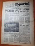 sportul 16 noiembrie 1989-romania s-a calificat la turneul final al CM italia