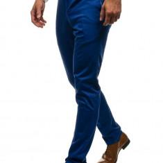 Pantaloni pentru bărbat slim fit albastru Bolf 4326