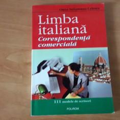Limba italiana - corespondenta comerciala - Oana Cristea Salisteanu