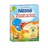 Cereale copii NESTLE Junior 8 cereale cu fructe 250g de la 12 luni