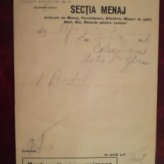 1937, Columb SAR, Buc, Bărăției, art menaj, porcelanuri, sticlărie, albii