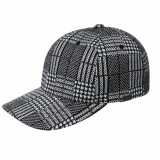 Sapca Kangol Pattern Baseball Black Plaid (Masura S/M si L/XL) - Cod 7878514