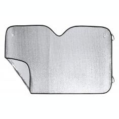 Parasolar, 1300×800 mm, Everestus, 20FEB16031, Aluminiu, Argintiu, Negru, saculet inclus