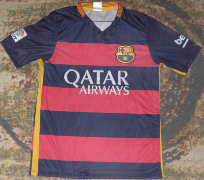 Tricou Messi Barcelona,original,marimea S,echipament fotbal foto