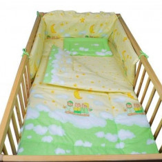 Aparatoare Laterala MyKids Teddy Norisori Verde 120x60