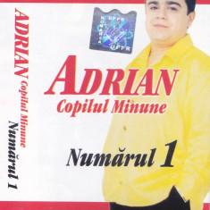 Caseta audio: Adrian copilul minune - Numarul 1 (2001, originala , stare f.buna), Casete audio