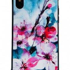 Husa TPU+PC UV Print 3D Apple iPhone 11 Flowers