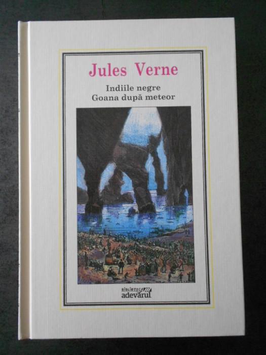 JULES VERNE - INDIILE NEGRE, GOANA DUPA METEOR (Adevarul, nr. 19)