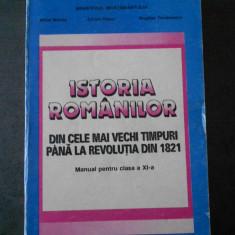 MIHAI MANEA - ISTORIA ROMANILOR * manual clasa a XI-a