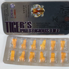 Tigru - noile pastile de potenta