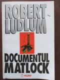 Documentul Matlock Robert Ludlum