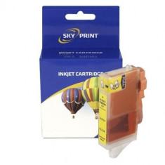 Cartus compatibil color HP364Y no chip * CB320EE * HP364 Y yellow galben fara...