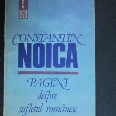 Pagini despre sufletul romanesc-Constantin Noica