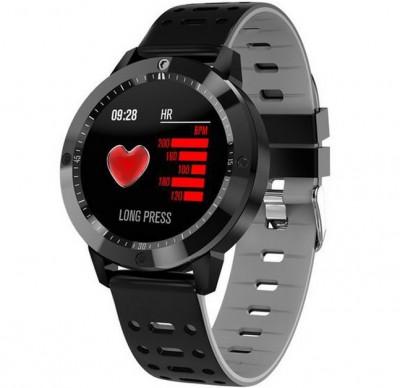 Bratara Fitness iUni CF58, Display OLED, Bluetooth, Pedometru, Monitorizare Puls, Notificari, Gri foto