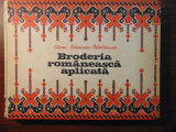 Broderia romaneasca aplicata - Elena Stanescu-Batrinescu (1978)