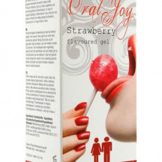 Gel Pentru Sex Oral Oral Joy Strawberry, 30 ml