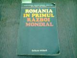 ROMANIA IN PRIMUL RAZBOI MONDIAL - VICTOR ATANASIU