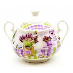 Zaharnita ceramica Lavander 13 x 10 x 9 cm