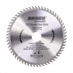 Disc pentru fierastrau circular Raider 190x60Tx30mm
