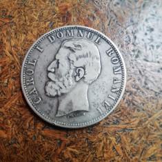 5 LEI 1881 CAROL I