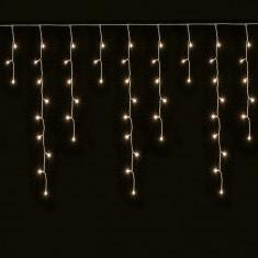 Ghirlanda decorativa luminoasa, 240 becuri mini, exterior, lumina alb cald