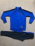 Trening cu pantaloni conici pentru COPII 7-8 ani JORDAN PSG, Albastru, Baieti